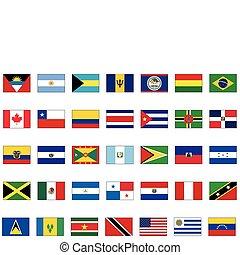 minden, állhatatos, amerikai, countries.