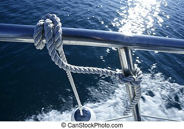 mindenfelé, sárhányó, csomó, tengeri, csónakázik, fedett