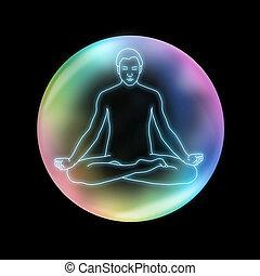 mindfulness, sukhasana, jóga