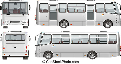 mini-bus, városi, utas