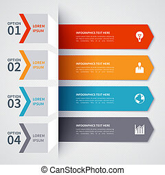 minimalistic, modern, transzparens, infographics