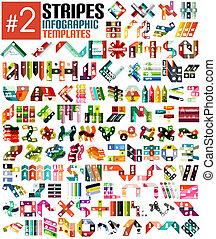 mintalécek, hatalmas, állhatatos, infographic, vonal, #2