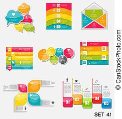 mintalécek, illustration., ügy, gyűjtés, infographic, vektor