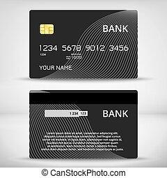 mintalécek, kártya, tervezés, hitel