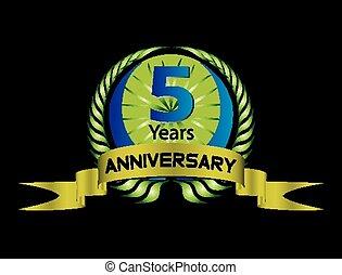 misét celebráló, év, évforduló, 5