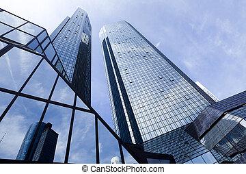 modern ügy, épület