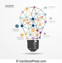 modern, infographic, tervezés, mód, alaprajz, /, sablon, infographics, kapcsoló, minimális, website, lenni, használt, horizontális, számozott, grafikus, fény, megvonalaz, vektor, konzerv, szalagcímek, vagy, pont