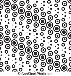 monochrom, elvont, vektor, geometric példa