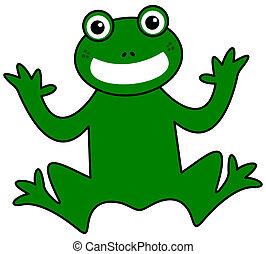 mosolygós, zöld mentezsinór