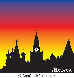 moszkva, árnykép