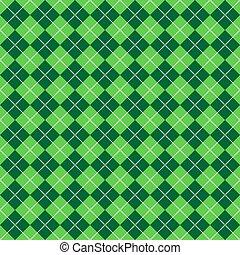 motívum, argyle, zöld