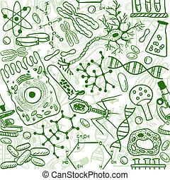 motívum, biológia, seamless
