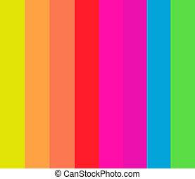 motívum, csíkoz, fluoreszkáló