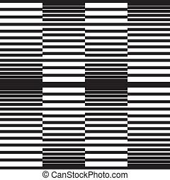 motívum, fehér, fekete, seamless, háttér