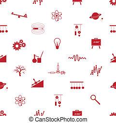 motívum, fizika, seamless, eps10, ikonok
