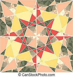 motívum, geometriai, vektor, állhatatos, seamless