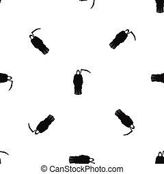 motívum, kaszál, halál, fekete, seamless