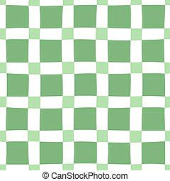 motívum, seamless, green-white
