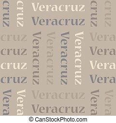 motívum, veracruz, seamless, mexikó