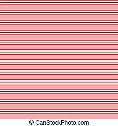 motívum, vonal, piros, seamless