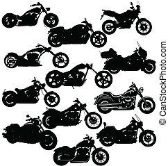 motorkerékpár, csomag