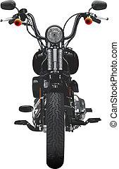 motorkerékpár, homlokszalag, kilátás