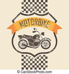motorkerékpár, ikon