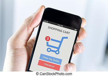 mozgatható, bevásárlás