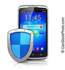 mozgatható, biztonság, fogalom, adatok protection