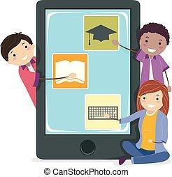 mozgatható, stickman, tizenéves kor, apps, kialakulás