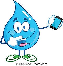 mozgatható, víz letesz, telefon