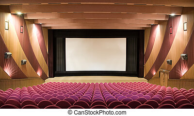 mozi, előadóterem