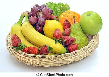 mozi, növényi, gyümölcs, legjobb, &