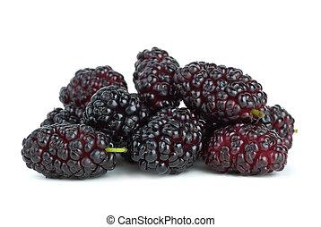 mulberries, kevés