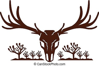 mule-deer-skull-joshua-tree-mountains