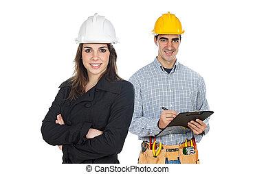 munkás, szerkesztés, befog