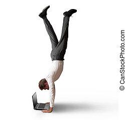 munka, akrobatikus