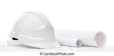 munka nehéz, elszigetelt, csekkszámlák, white kalap