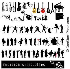 musican, körvonal