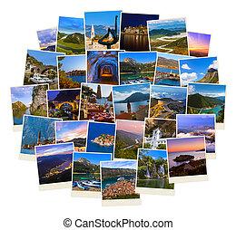 (my, utazás, photos), montenegro, arcmás, kazal