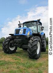 négy, új, gördít, autózás, traktor