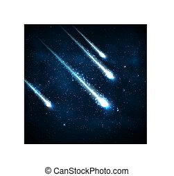 négy, üstökös