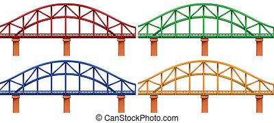 négy, bridzs, színes