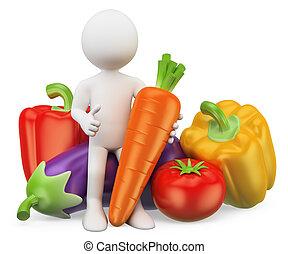 növényi, emberek., táplálék., egészséges, 3, fehér