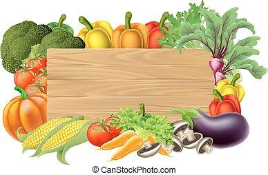 növényi, friss, aláír