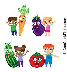 növényi, gyerekek