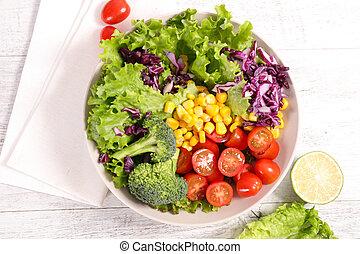 növényi, saláta