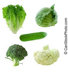 növényi, zöld