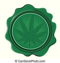 növekszik lepecsétel, marihuána