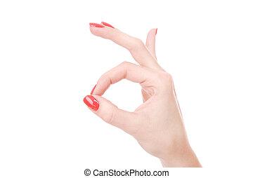 női kezezés, háttér, fehér
